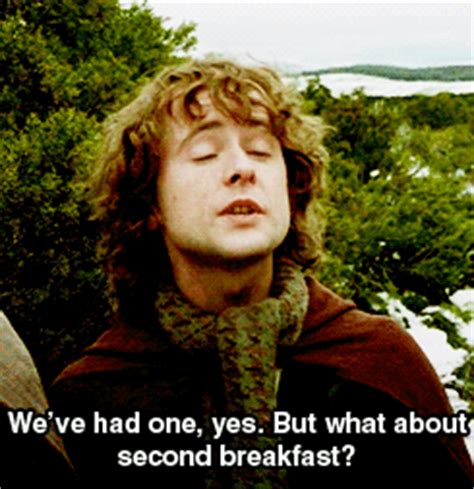 Second Breakfast Meme - second breakfast film fever