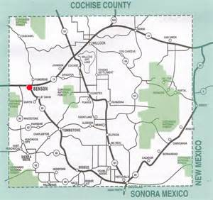 cochise county arizona map dipeso realty maps