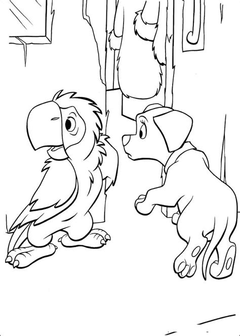 40 Coloring Page by 102 Dalmatians 40 Coloring Page