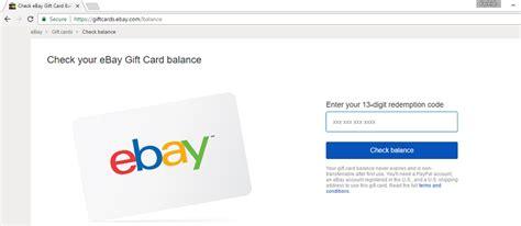 ebay gift card balance see ebay gift card balance gift ftempo
