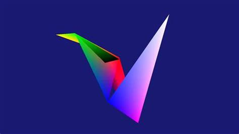 Origami Screen - 3d origami bird screen saver for windows 10 pc mobile