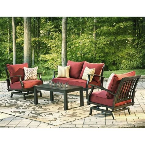 Allen & Roth Patio Furniture Replacement Cushions   Patio