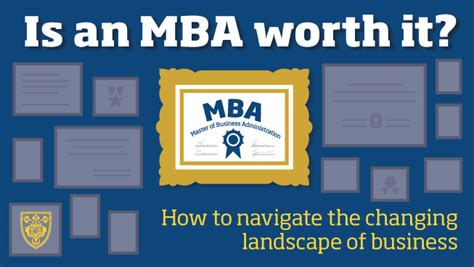Mba Worth by Is An Mba Worth It How To Navigate The Changing Landscape