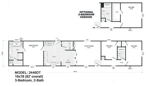 4 bedroom 2 bath floor plans 3 bedroom 2 bath single wide mobile home floor plans