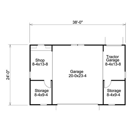 dimensions of a two car garage impressive two car garage size 8 plan 2 car garage