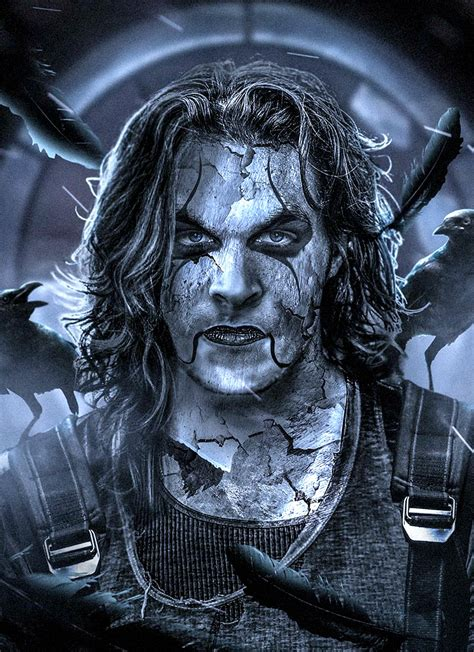 here s what jason momoa looks like as the crow movieweb