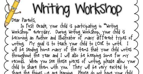 Parent Letter Writing Workshop classroom freebies writing workshop letter to parents