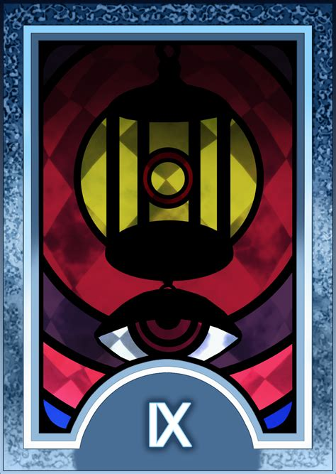 persona 4 card penalty persona 3 4 tarot card deck hr hermit arcana by