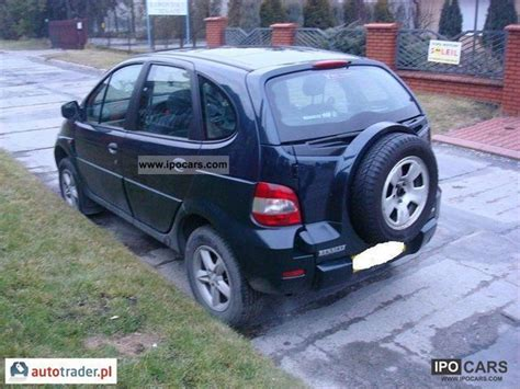 renault scenic 2002 specifications 2002 renault scenic rx4 car photo and specs