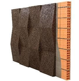 pannelli isolanti in sughero per interni rivestimenti in sughero