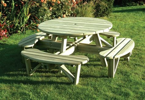 round bench seating elite round table and bench seat hillsborough fencing co ltd