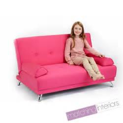 Sofa Bed For Children Childrens Cotton Twill Clic Clac Sofa Bed With Armrests Futon Sofabed Guest Ebay