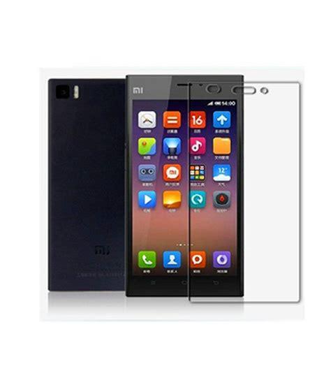 Tempered Xiaomi Mi3 xiaomi mi3 tempered glass screen guard by gadgetguruz