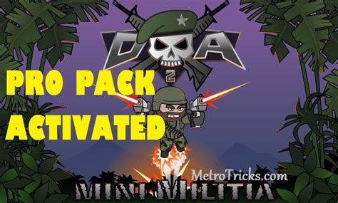 full version mini militia mini militia v3 0 6 pro pack activated mod apk download