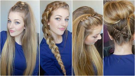 Coiffure Sur Cheveux Mi by Tuto Coiffure Cheveux Longs Mi Longs