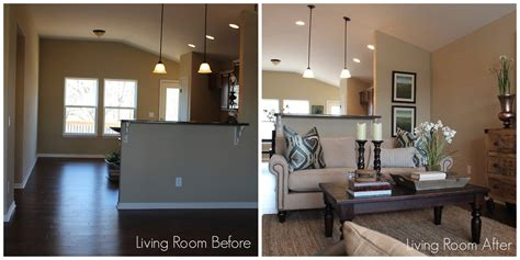 before and after staging staging a house with classy staging a house to sell before