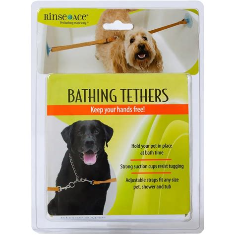 ace for dogs rinse ace 174 pet bathing tether entirelypets