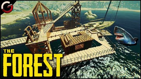 yacht the forest epic water base build and defend on the yacht the