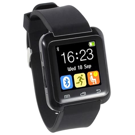 Smartwatch U80 Smartwatch U80 Multifunzionale Bluetooth Nero