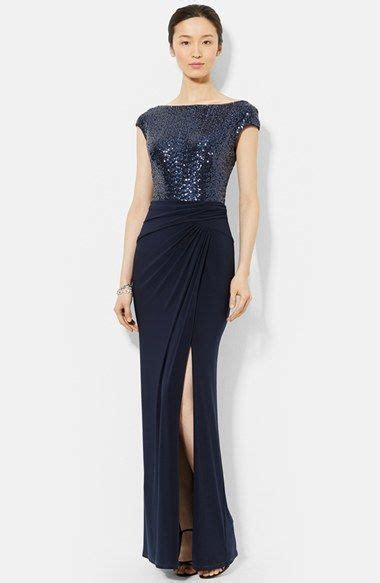 Blue Mermaid Dress By Ralph 17 best ideas about navy sequin dress on