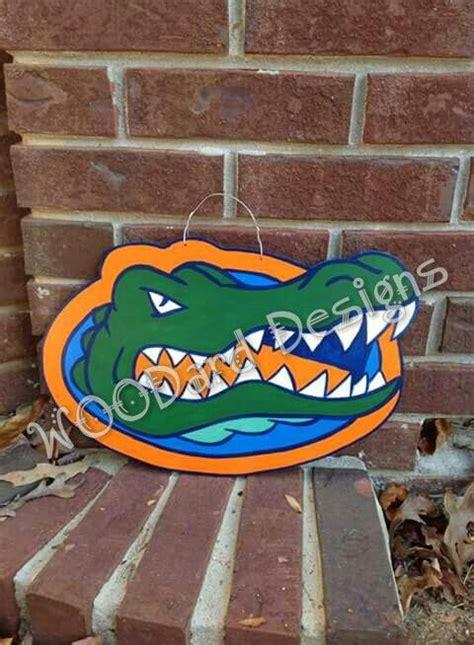 wooden florida gators door hanger wwwfacebookcom