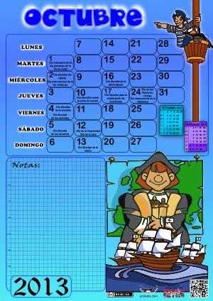 imagenes del mes de octubre cumpleaños viajando por el espa 241 ol calendario para el mes de octubre