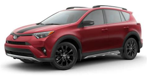 rav4 colors what colors does the 2018 toyota rav4 come in
