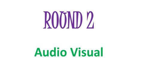 quiz questions visual round audio visual round fun quiz competition