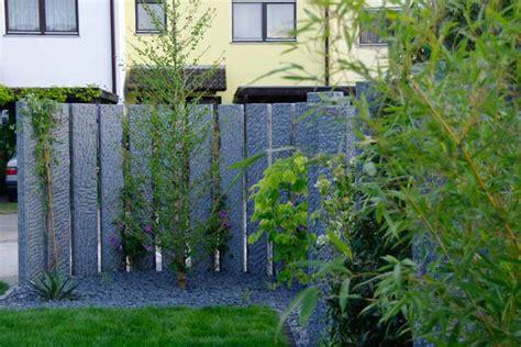 landschaftsgärtner dekor zaun stein