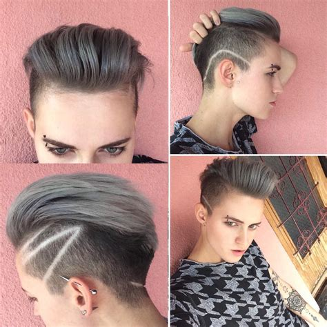Tomboy Hairstyles by New Hairstyle For Cool Tomboy Itomboys