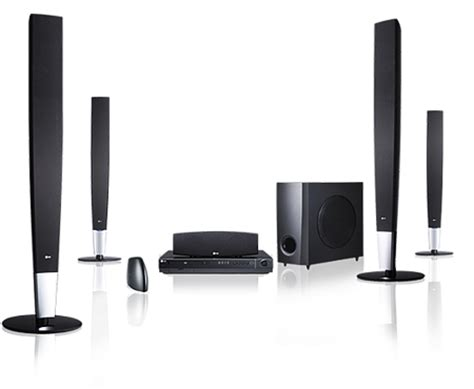 wireless home theatre system with fullhd up scaling