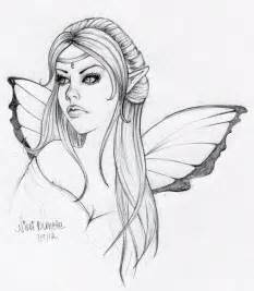 Easy fairy sketches and how do you spell quot fairies quot