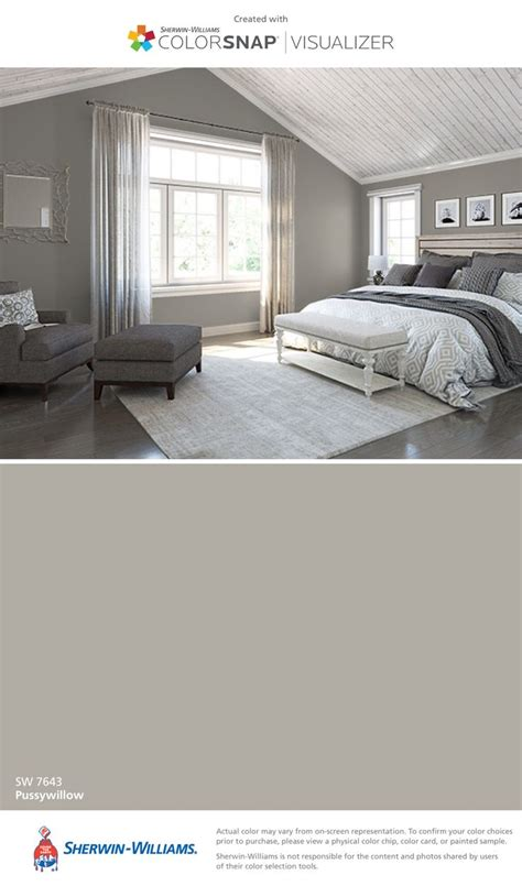 sherwin williams pussywillow 1000 ideas about master bedroom bathroom on pinterest