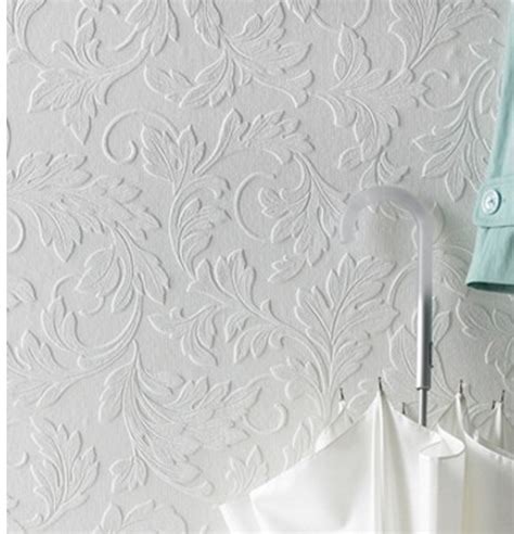 leaf pattern paintable wallpaper lilian s leaves and scroll paintable wallpaper rto 34607