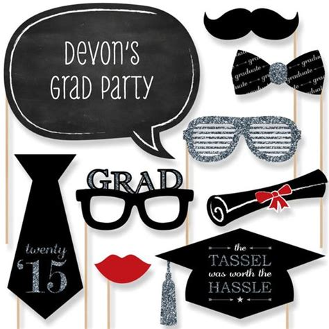 free printable graduation photo booth props 2015 20 graduation photo booth props 2015 silver photobooth
