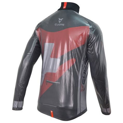 clear cycling jacket gold cycling clear jacket cuore of switzerland ag