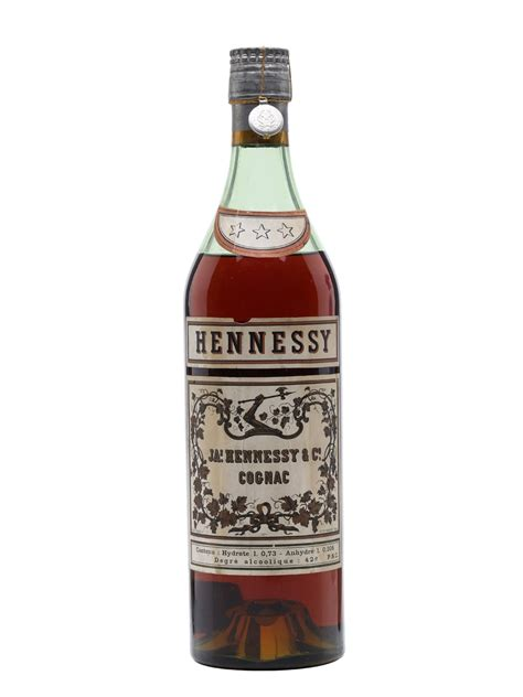 hennessy 3 cognac bot 1950s the whisky exchange