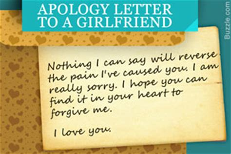 Apology Letter To Gf Apology Letter For Shoplifting