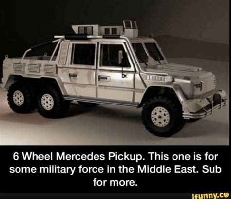 mercedes 6 wheel pickup 6 wheel mercedes pickup this one is for some military