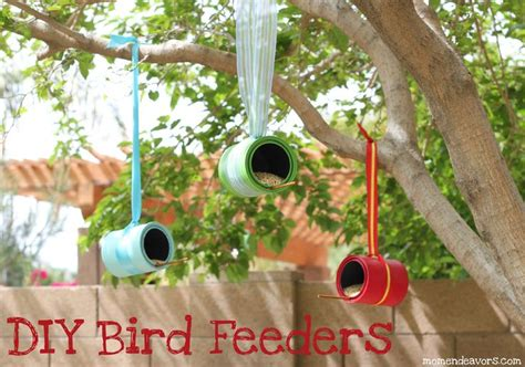 diy bird feeders using tin cans activities to try