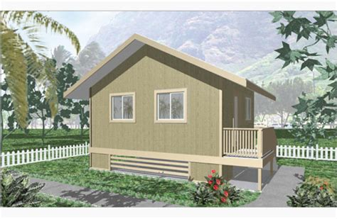 model 320 design by big island package homes