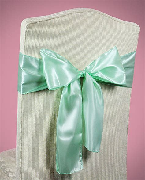 Mint Chair Sashes by Chair Sashes Mint Green Wedding Chair Sashes Chair Bows Mint