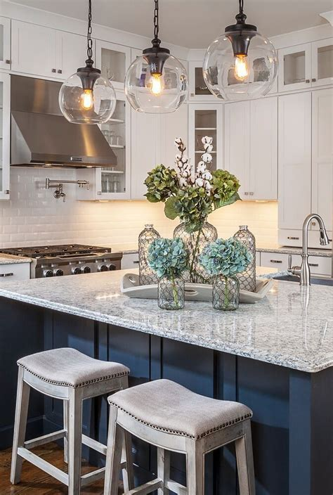 kitchen island decorating ideas gorgeous home tour with lauren nicole designs globe