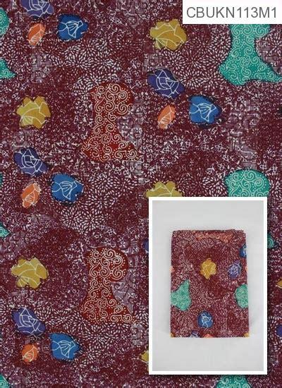 Kain Katun Motif Batik Meteran 2x1 1 M kain batik cap katun primis motif taman angkasa gordon