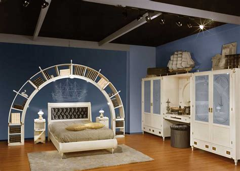 blue and white themed bedroom blue and white sea theme kids bedroom design interior design ideas