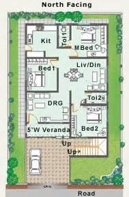 North Facing Floor Plans Type P Houses At Prakeuthi Nivas Leading Builders In