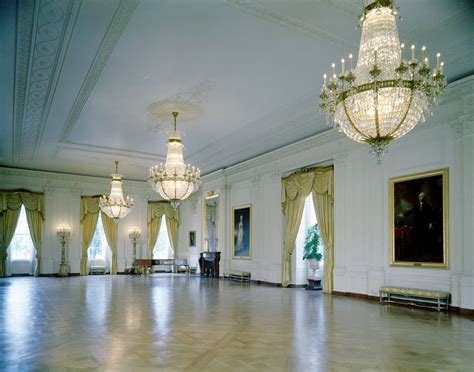 Rooms In White House by Kn C18666 East Room White House F Kennedy