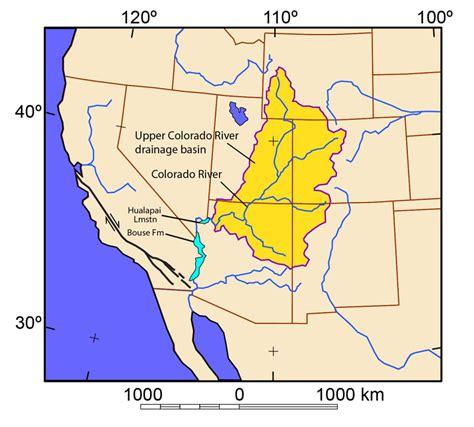 map grand colorado river arizona geology and new concepts in geosciences arizona