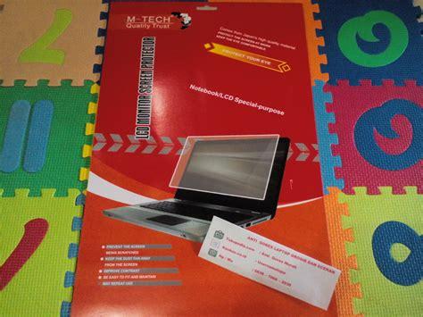 Anti Gores Lcd Protector 14 terjual lcd protector anti gores lcd notebook laptop cod bekasi kaskus
