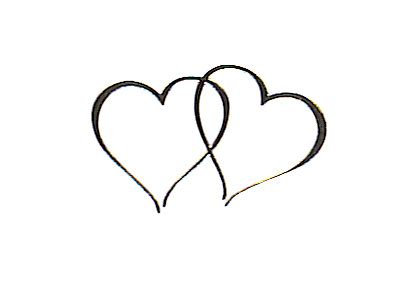 tattoo kit in elkaar zetten 48 silver twin heart wedding invitation seals stickers ebay